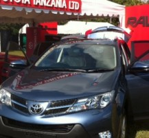 Toyota Tent at Goat Races